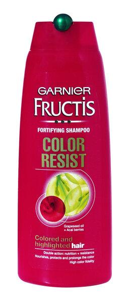 Šampoon värvitud juustele Color Resist Garnier Fructis 400 ml цена и информация | Šampoonid | kaup24.ee