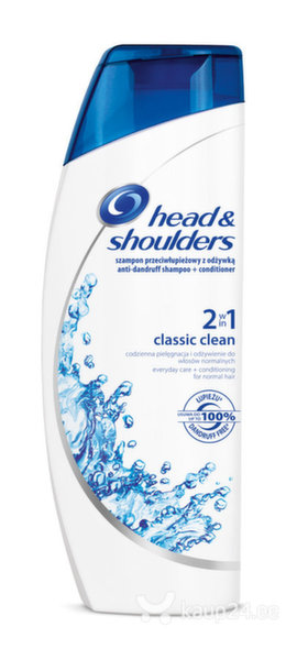 Šampoon Head&Shoulders Classi Clean 2in1 360 ml цена и информация | Šampoonid | kaup24.ee