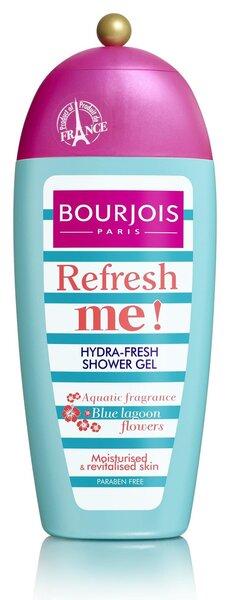 Гель для душа Bourjois Refresh Me! 250 мл цена и информация | Dušigeelid, seebid | kaup24.ee