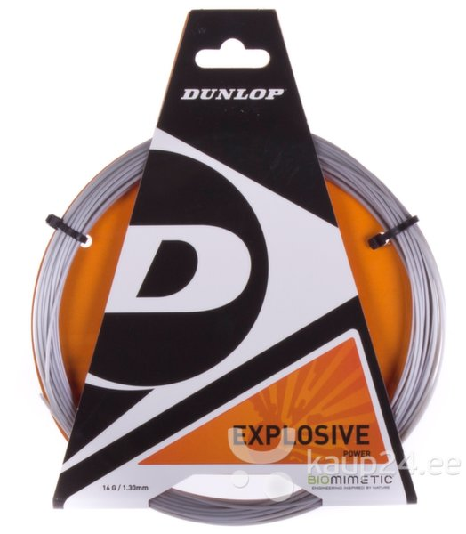 Tennisereketi keeled Dunlop Explosive, 1,30 mm цена и информация | Tennis | kaup24.ee