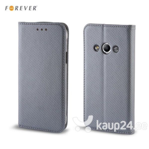 Kaitseümbris Forever Smart Magnetic Fix Book sobib Huawei Y635, hall цена и информация | Mobiili ümbrised, kaaned | kaup24.ee