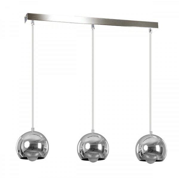 Rippvalgusti Emibig BALL 3, kroom цена и информация | Rippvalgustid | kaup24.ee