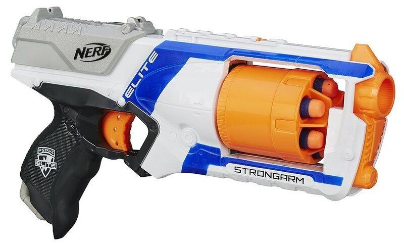 Vintpüss Nerf Strongarm цена и информация | Poiste mänguasjad | kaup24.ee