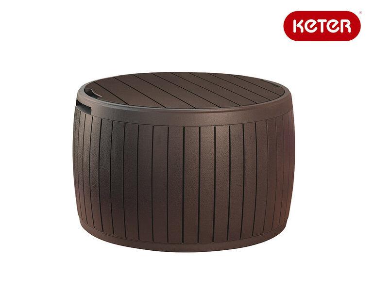Hoiukast Keter Circa wood цена и информация | Aiatööriistad | kaup24.ee