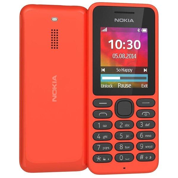 Mobiiltelefon Nokia 130, punane цена и информация | Mobiiltelefonid | kaup24.ee