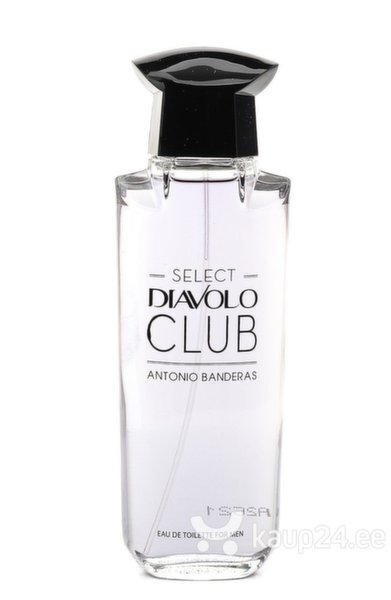 Tualettvesi Antonio Banderas Select Diavolo Club EDT meestele 100 ml цена и информация | Meeste lõhnad | kaup24.ee