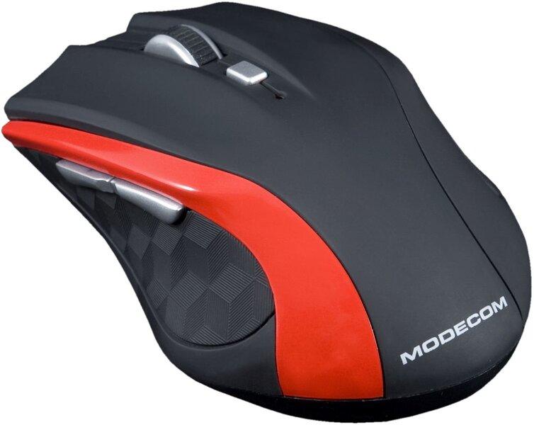 Juhtmevaba hiir MODECOM MC-WM5, punane hind ja info | Hiired | kaup24.ee