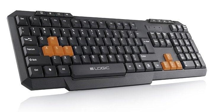 Klaviatuur LOGIC LK-21 цена и информация | Klaviatuurid | kaup24.ee