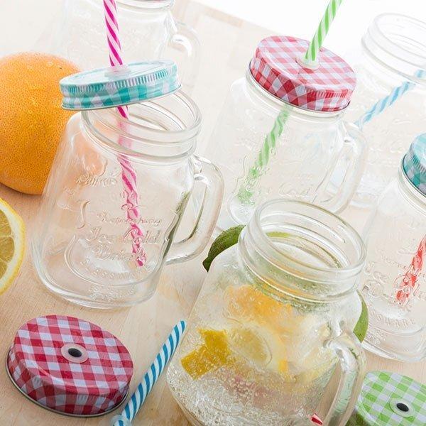 Joogipurk kõrre ja sangaga цена и информация | Muud originaalsed kingiideed | kaup24.ee