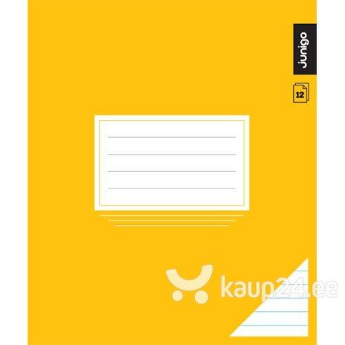 Vihik Junigo Ekstra, 12 lehte, jooneline цена и информация | Värvimis- ja kirjutusvahendid | kaup24.ee
