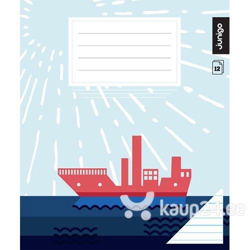 Vihik Junigo Super, 12 lehte, jooneline цена и информация | Värvimis- ja kirjutusvahendid | kaup24.ee
