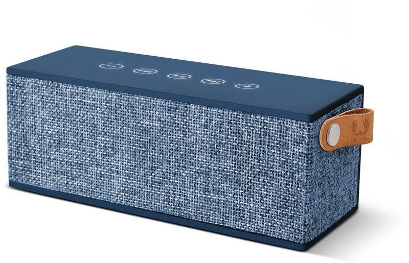 Juhtmevaba kõlar FRESHN REBEL Rockbox Brick Fabriq Edition Bluetooth, sinine цена и информация | Kõlarid | kaup24.ee