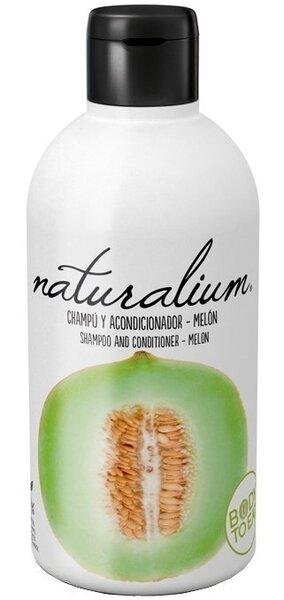 Meloniga šampoon ja palsam Naturalium 400 ml цена и информация | Šampoonid | kaup24.ee