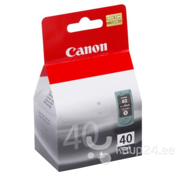 Tindikassett Canon PG-40, must цена и информация | Tindiprinteri kassetid | kaup24.ee