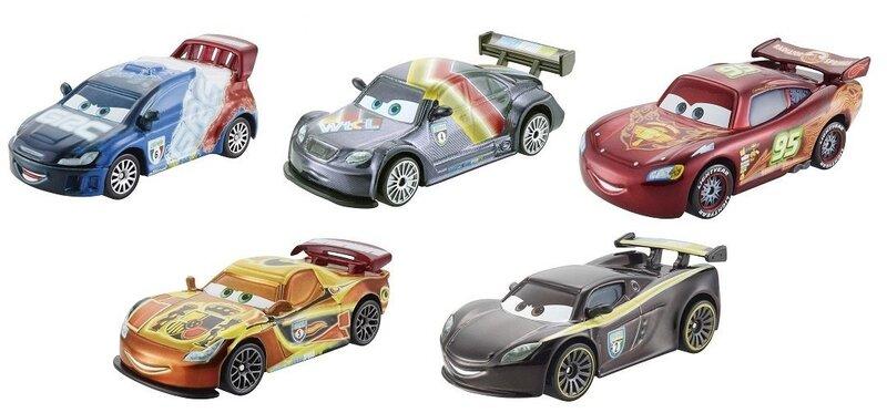 Automudel Disney Cars Neoon võidusõitja CBG10 цена и информация | Poiste mänguasjad | kaup24.ee