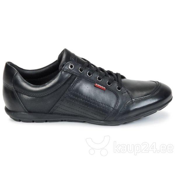 Meeste jalatsid Levi's, mustad цена и информация | Meeste kingad, saapad | kaup24.ee