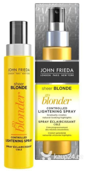 Juuksesprei John Frieda Sheer Blonde Go Blonder 100 ml цена и информация | Maskid, õlid, seerumid | kaup24.ee