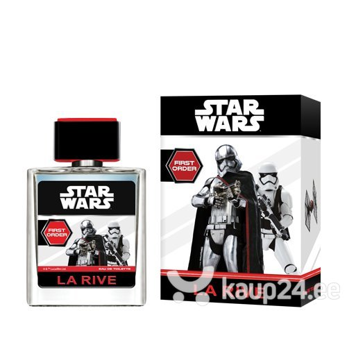 Tualettvesi La Rive Star Wars First Order EDT poistele 50 ml цена и информация | Laste lõhnad | kaup24.ee
