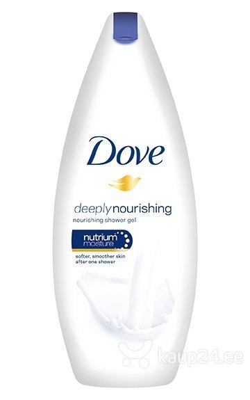 Dušigeel Dove Deeply Nourishing 250 ml цена и информация | Dušigeelid, seebid | kaup24.ee