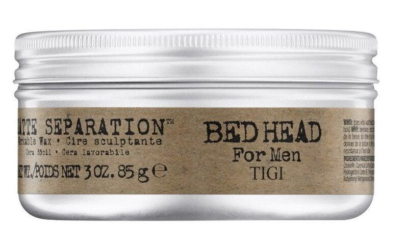 Meeste juuksevaha Tigi Bed Head Men Matte Separation 85 g цена и информация | Viimistlusvahendid juustele | kaup24.ee