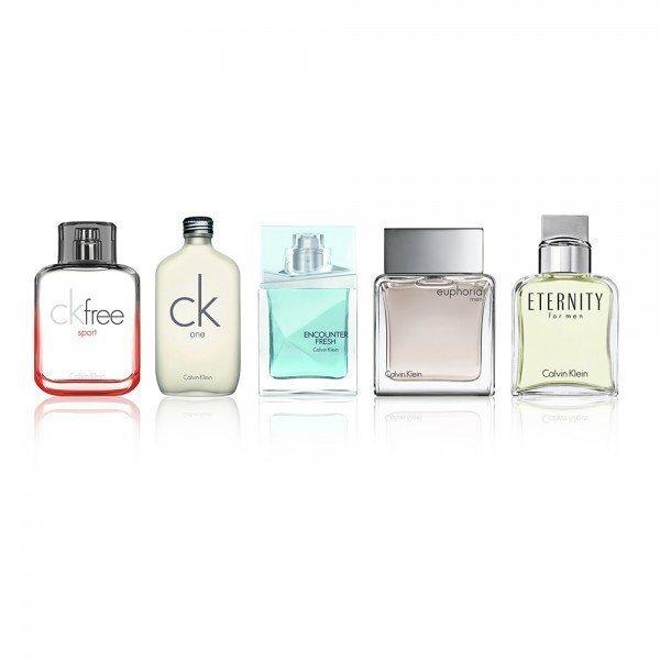 Komplekt Calvin Klein Mini EDT meestele 5 x 10 ml цена и информация | Meeste lõhnad | kaup24.ee