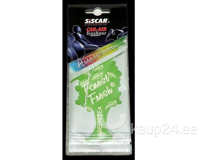 Lõhnaleht Forest Fresh Green Tea цена и информация | Auto õhuvärskendajad | kaup24.ee