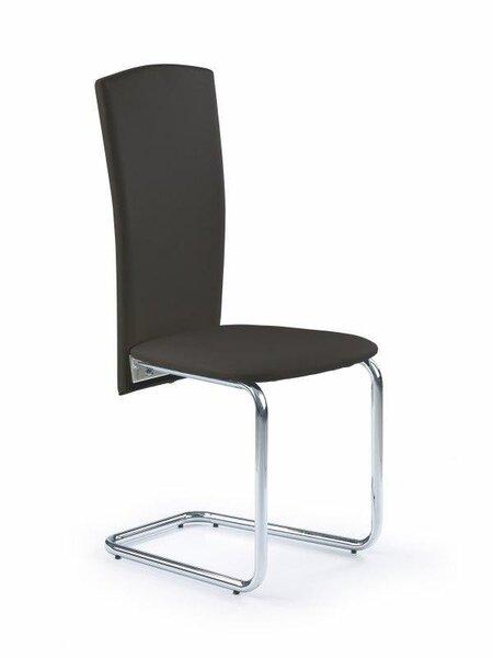 4 tooli komplekt K-74, must цена и информация | Köögitoolid | kaup24.ee