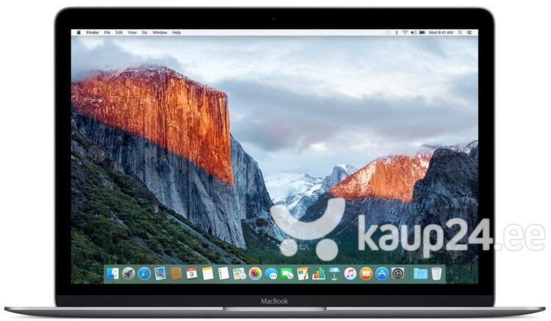 Apple MacBook 12 Retina (MLH82ZE/A) EN цена и информация | Sülearvutid | kaup24.ee