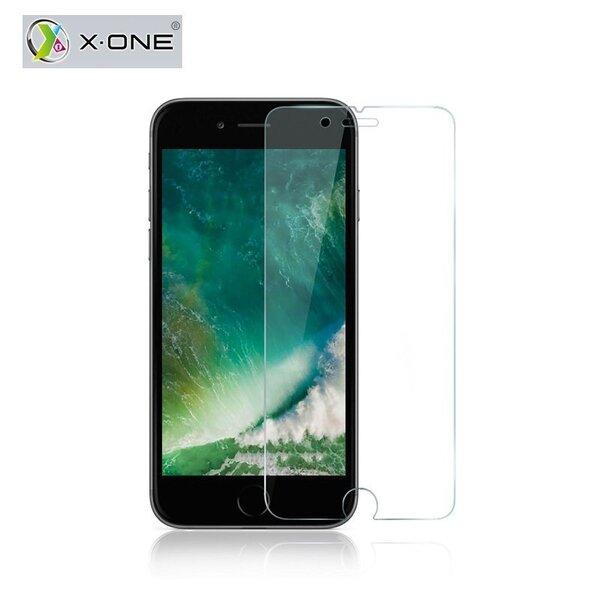 Ekraanikaitseklaas X-One Tempered Galss Apple iPhone 7 Plus kaina ir informacija | Ekraani kaitsekiled | kaup24.ee