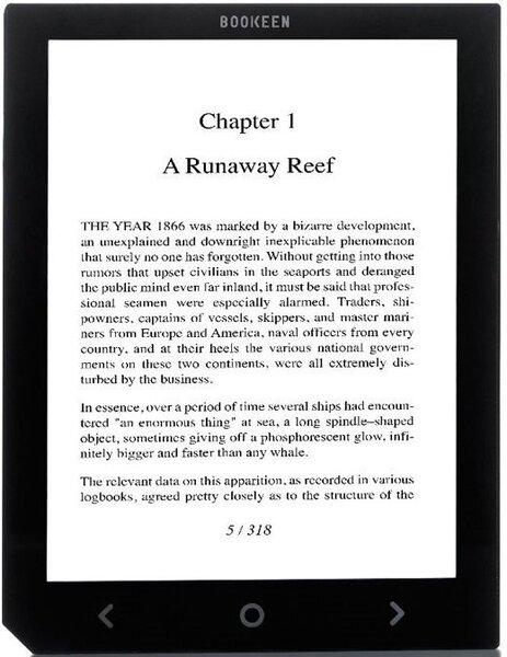 "E-luger Bookeen Cybook Ocean, 8"", must hind ja info | E-lugerid | kaup24.ee"