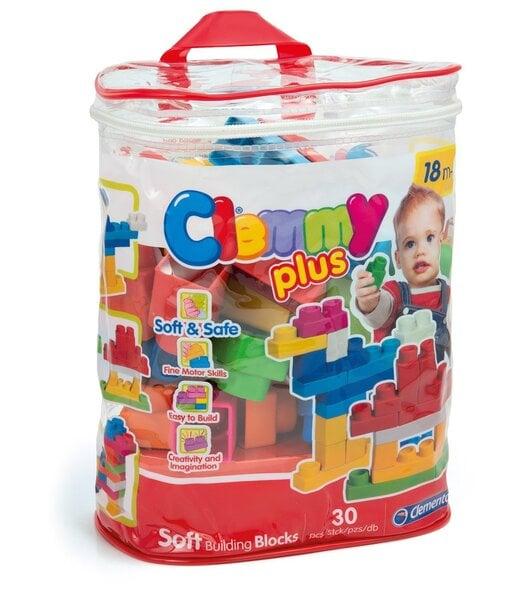 Klotsid Clementoni Clemmy Plus, 30 tk, kott цена и информация | Imikute mänguasjad | kaup24.ee