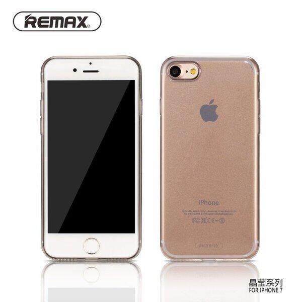 Kaitseümbris Remax Crystal sobib Apple iPhone 7, must цена и информация | Mobiili ümbrised, kaaned | kaup24.ee