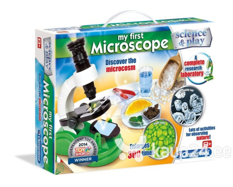 Mängu mikroskoop Clementoni Science&Play: My First Microscope​ цена и информация | Arendavad mänguasjad 3+ | kaup24.ee