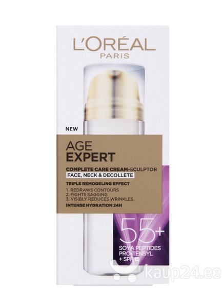 L'Oréal Paris Age Specialist 55+ ремоделирующий крем  цена и информация | Näokreemid | kaup24.ee