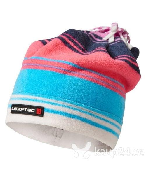 Laste müts Lego Wear Ace 679, sinine/roosa цена и информация | Laste talveriided | kaup24.ee