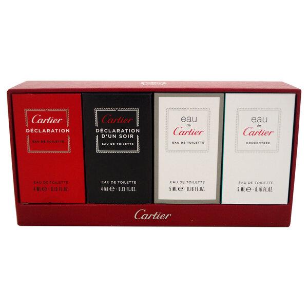 Komplekt Cartier meestele: EDP 2 x 4 ml + EDT 2 x 5 ml цена и информация | Meeste lõhnad | kaup24.ee
