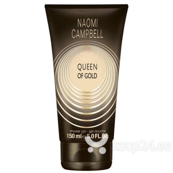 Dušigeel Naomi Campbell Queen of Gold naistele 150 ml цена и информация | Lõhnastatud kosmeetika naistele | kaup24.ee