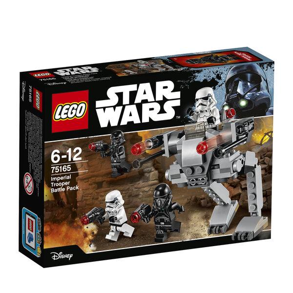 Klotsid LEGO® Star Wars Imperial Trooper Battle Pack 75165 hind ja info | Kokkupandavad mänguasjad | kaup24.ee