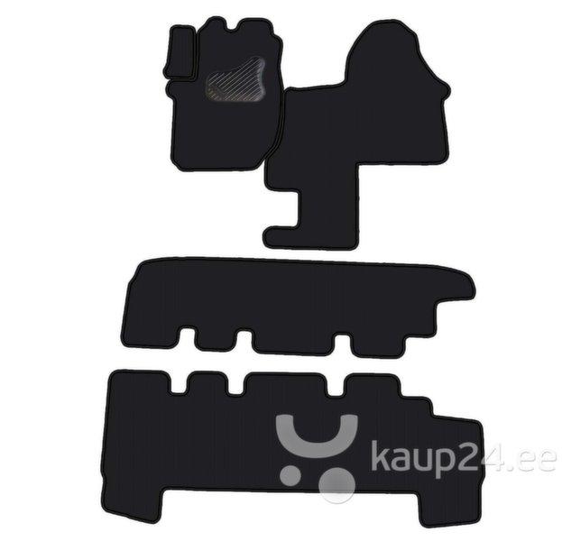 Comfort OPEL VIVARO 8 vietu II rinda ar vadiem 2001- MAX 4  , Велюровое покрытие цена и информация | Tekstiilmatid | kaup24.ee