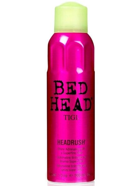 Tigi Bed Head Headrush Лёгкий блеск для волос, 200 мл цена и информация | Viimistlusvahendid juustele | kaup24.ee