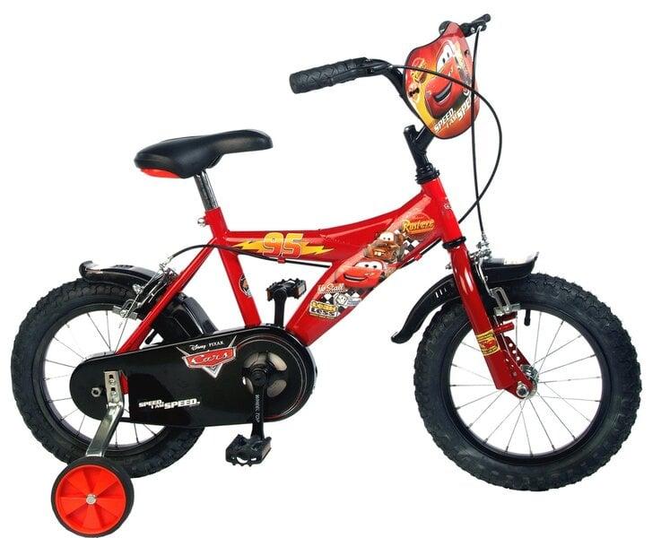 "Детский велосипед Toimsa Cars 14 \"" цена и информация | Laste jalgrattad | kaup24.ee"