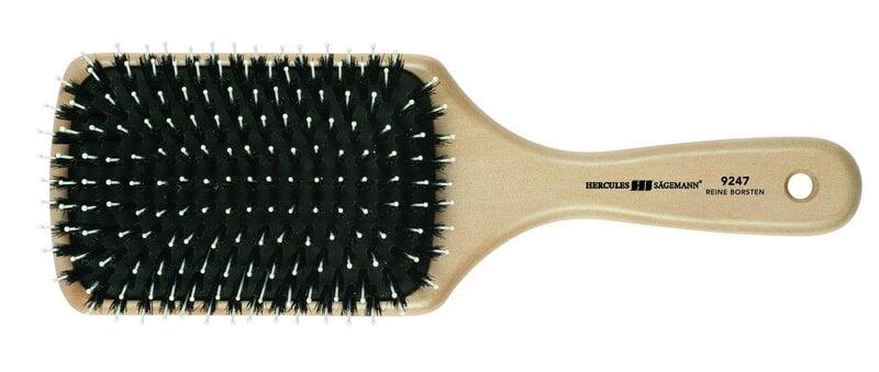 Ümmargune juuksehari metssea harjastega Hercules Sagemann 230/46 mm цена и информация | Tarvikud juustele | kaup24.ee