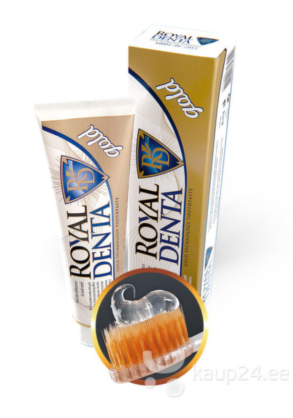 Hambapasta Royal Denta Gold 130g цена и информация | Suuhügieen | kaup24.ee