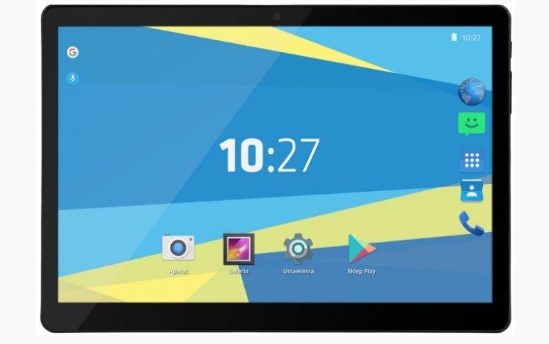 Tahvelarvuti Overmax Qualcore 1027 10.1'', 3GB, Must