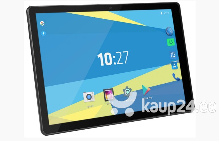 Tahvelarvuti Overmax Qualcore 1027 10.1'', 4G, Must