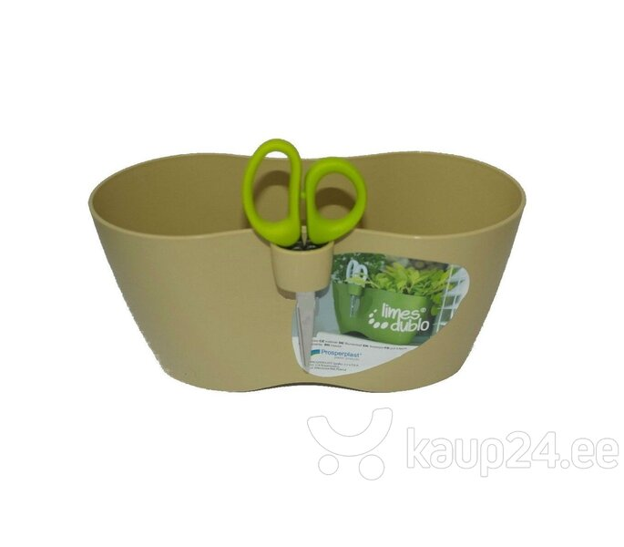 Цветочный горшок для выращиввания специй 14,8x31,7 см цена и информация | Dekoratiivsed lillepotid | kaup24.ee