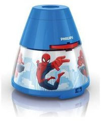 "Philips Disney ""Spider-Man"" LED проектор и ночник, синий"