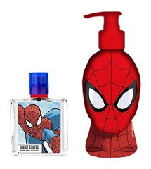 Komplekt Marvel Ultimate Spiderman: EDT poistele 50 ml + dušigeel 250 ml