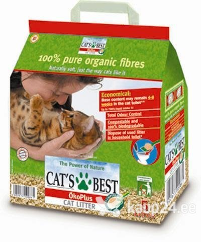 Naturaalne kassiliiv Cat's Best Original, 20 l Colors hind