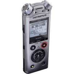Diktofon Olympus LS-P1 PCM, hõbedane hind ja info | Diktofonid | kaup24.ee